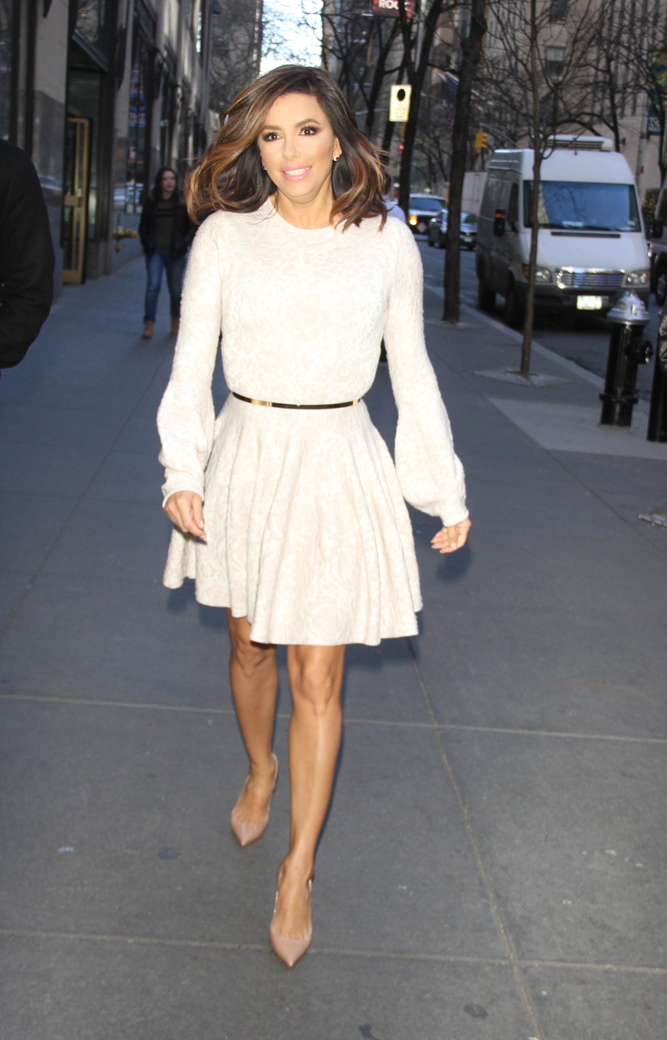 Eva Longoria 2016 : Eva Longoria in Mini Dress3