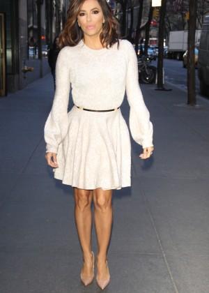 Eva Longoria in Mini Dress6