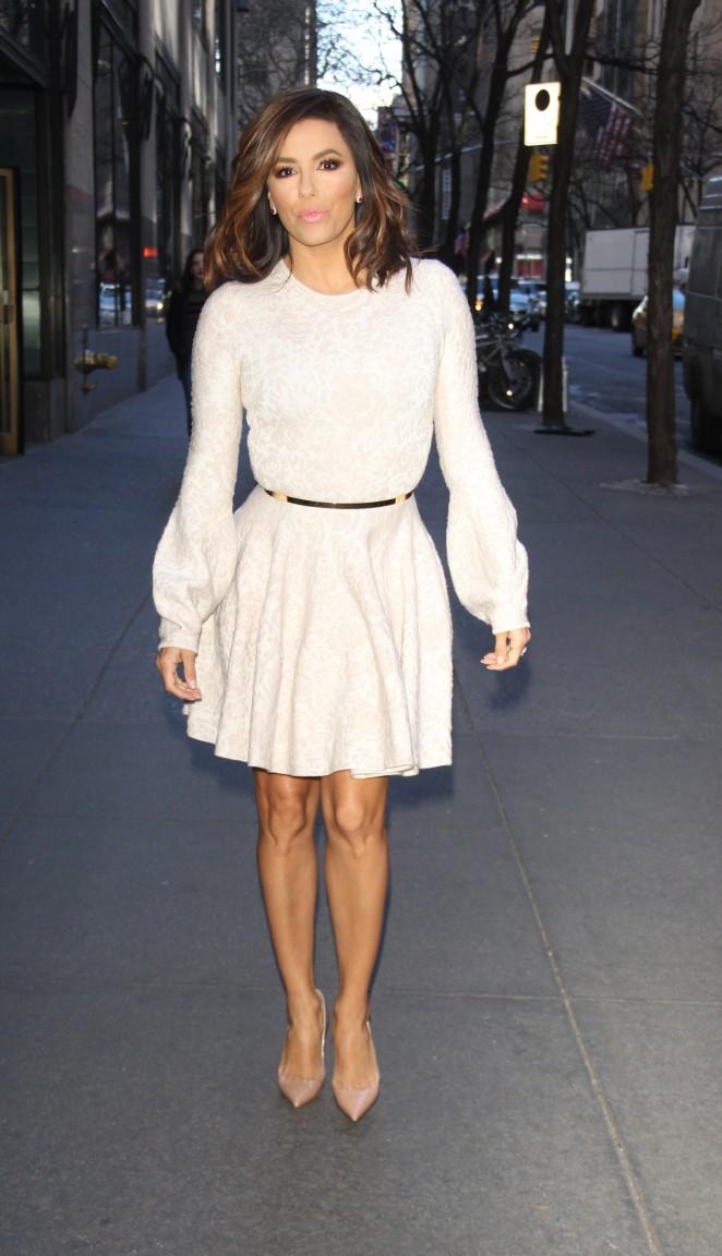 Eva Longoria 2016 : Eva Longoria in Mini Dress6