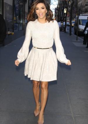 Eva Longoria in Mini Dress7