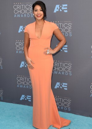 Gina Rodriguez: 2016 Critics Choice Awards