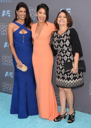 Gina Rodriguez: 2016 Critics Choice Awards4