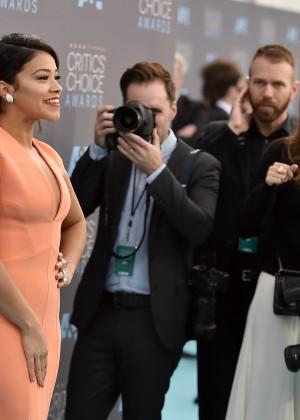 Gina Rodriguez: 2016 Critics Choice Awards6