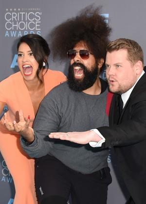 21st Gina Rodriguez: 2016 Critics Choice Awards7Critics' Choice Awards - Arrivals