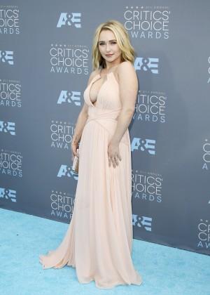 Hayden Panettiere: 2016 Critics Choice Awards -10