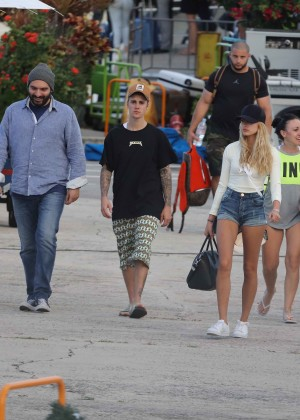 Hailey in Jeans Shorts 3