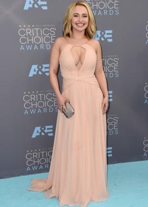 Hayden Panettiere: 2016 Critics Choice Awards -14
