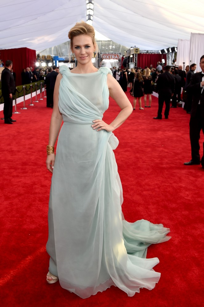 January Jones – 22nd Annual Screen Actors Guild Awards in Los Angeles