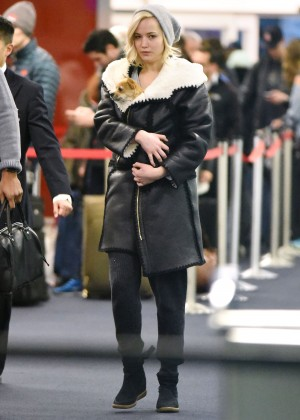 Jennifer Lawrence at JFK7