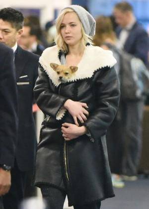 Jennifer Lawrence at JFK5