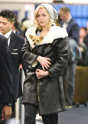 Jennifer Lawrence at JFK4