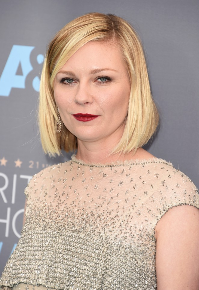 Kirsten Dunst: 2016 Critics Choice Awards