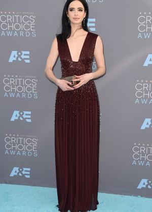 Krysten Ritter: 2016 Critics Choice Awards -05