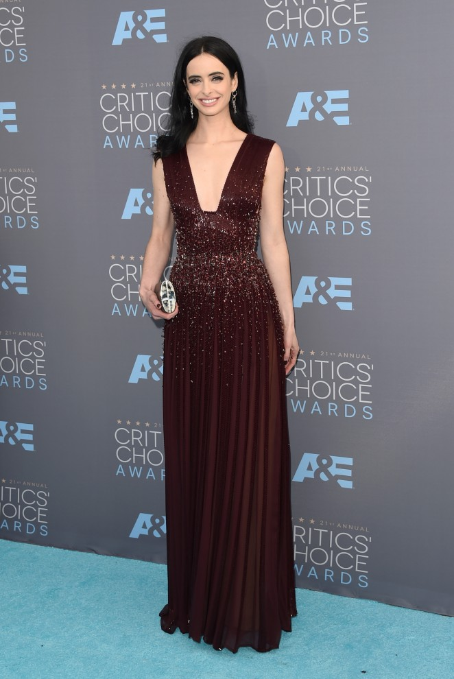 Krysten Ritter: 2016 Critics Choice Awards -03