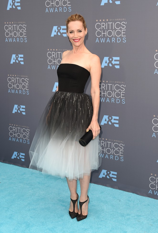 Leslie Mann: 2016 Critics Choice Awards2