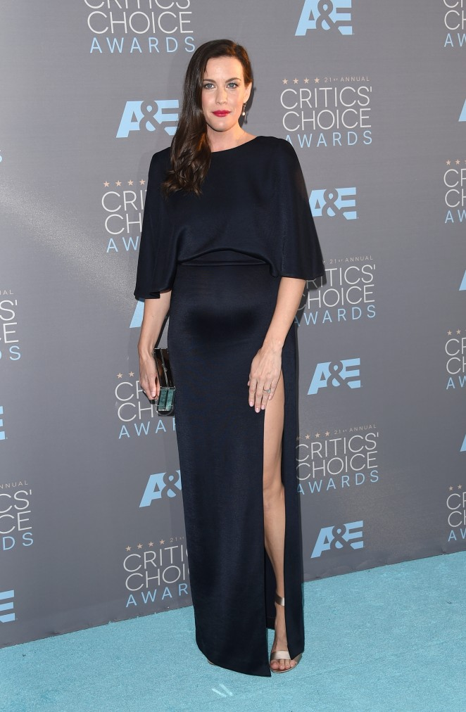 Liv Tyler: 2016 Critics Choice Awards