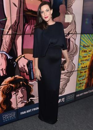 Liv Tyler: 2016 Critics Choice Awards1