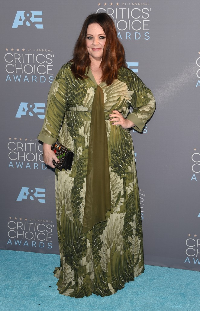 Melissa McCarthy: 2016 Critics Choice Awards1