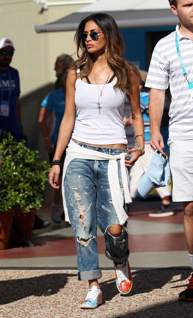Nicole Scherzinger – Brisbane International Tennis Tournament in Brisbane