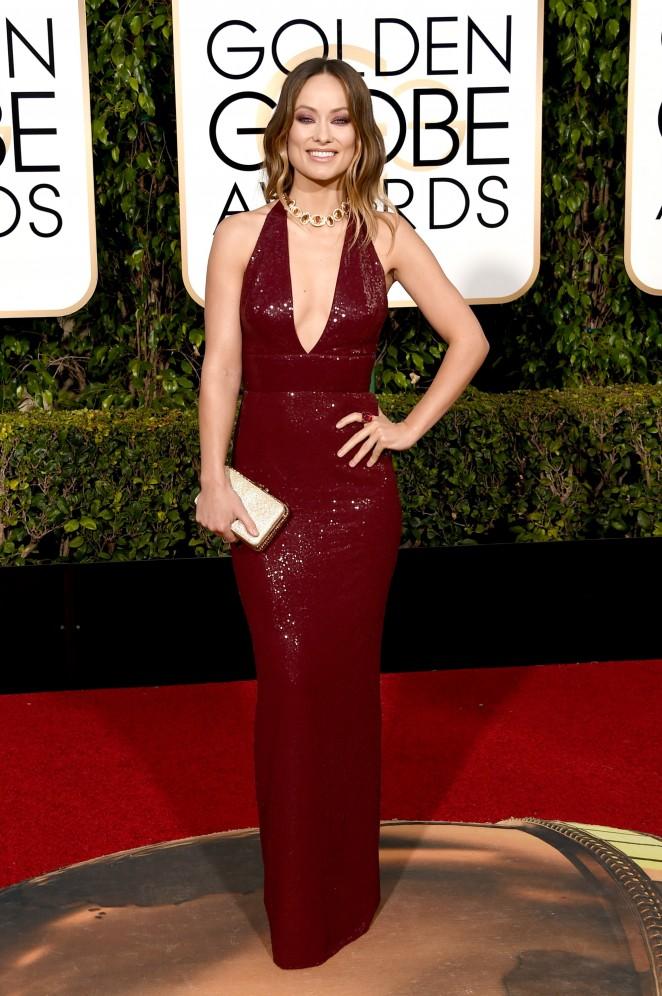 Olivia Wilde – 73rd Golden Globe Awards in Beverly Hills