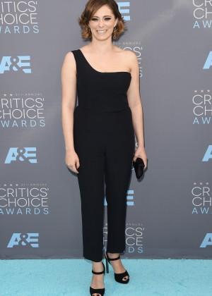 Rachel Bloom: 2016 Critics Choice Awards1