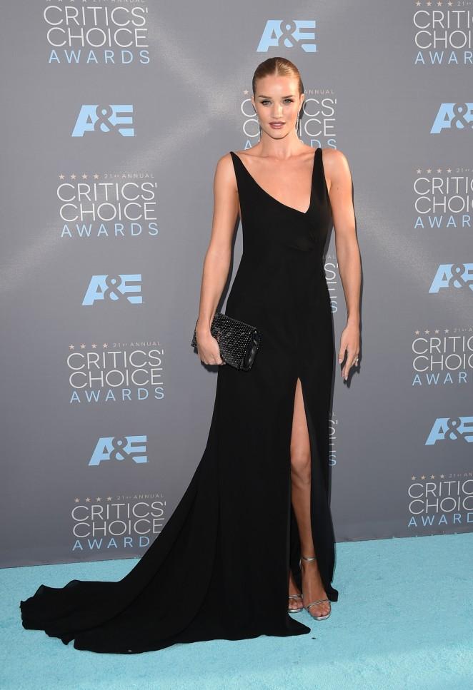 Rosie Huntington Whiteley 2016 : Rosie Huntington Whiteley: 2016 Critics Choice Awards -04