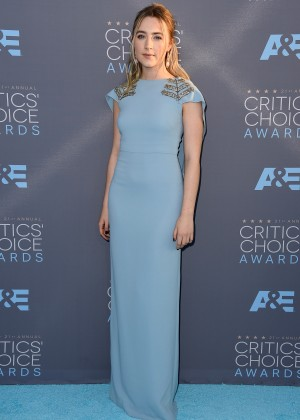Saoirse Ronan: 2016 Critics Choice Awards2
