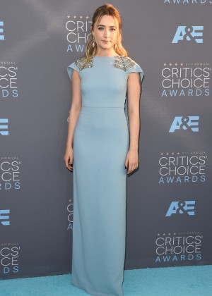 Saoirse Ronan: 2016 Critics Choice Awards1