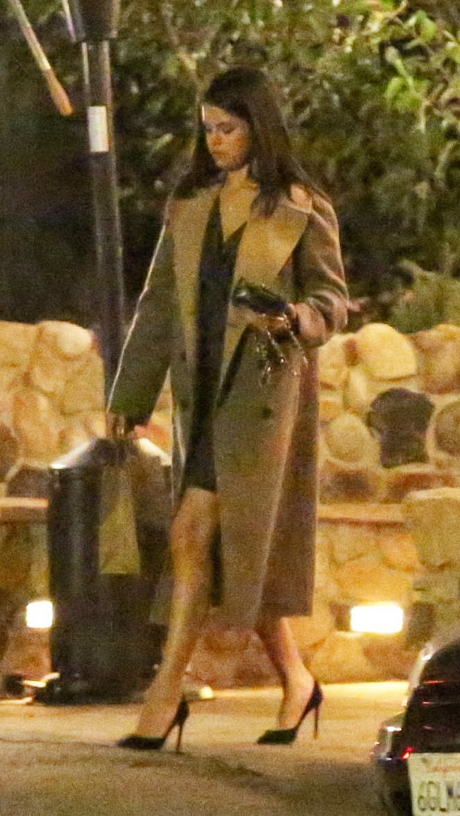 Selena Gomez at Saddle Peak Lodge11