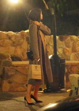 Selena Gomez at Saddle Peak Lodge1