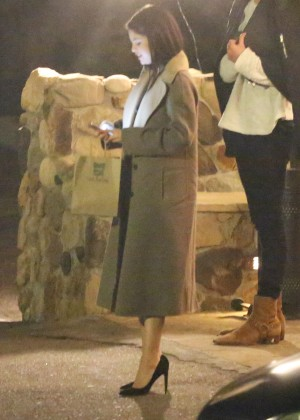 Selena Gomez at Saddle Peak Lodge5