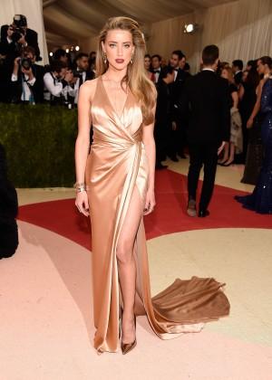 Amber Heard - 2016 Met Gala in NYC2