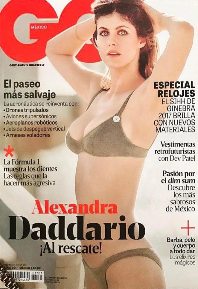 Alexandra Daddario for GQ Mexico Cover (April 2017)