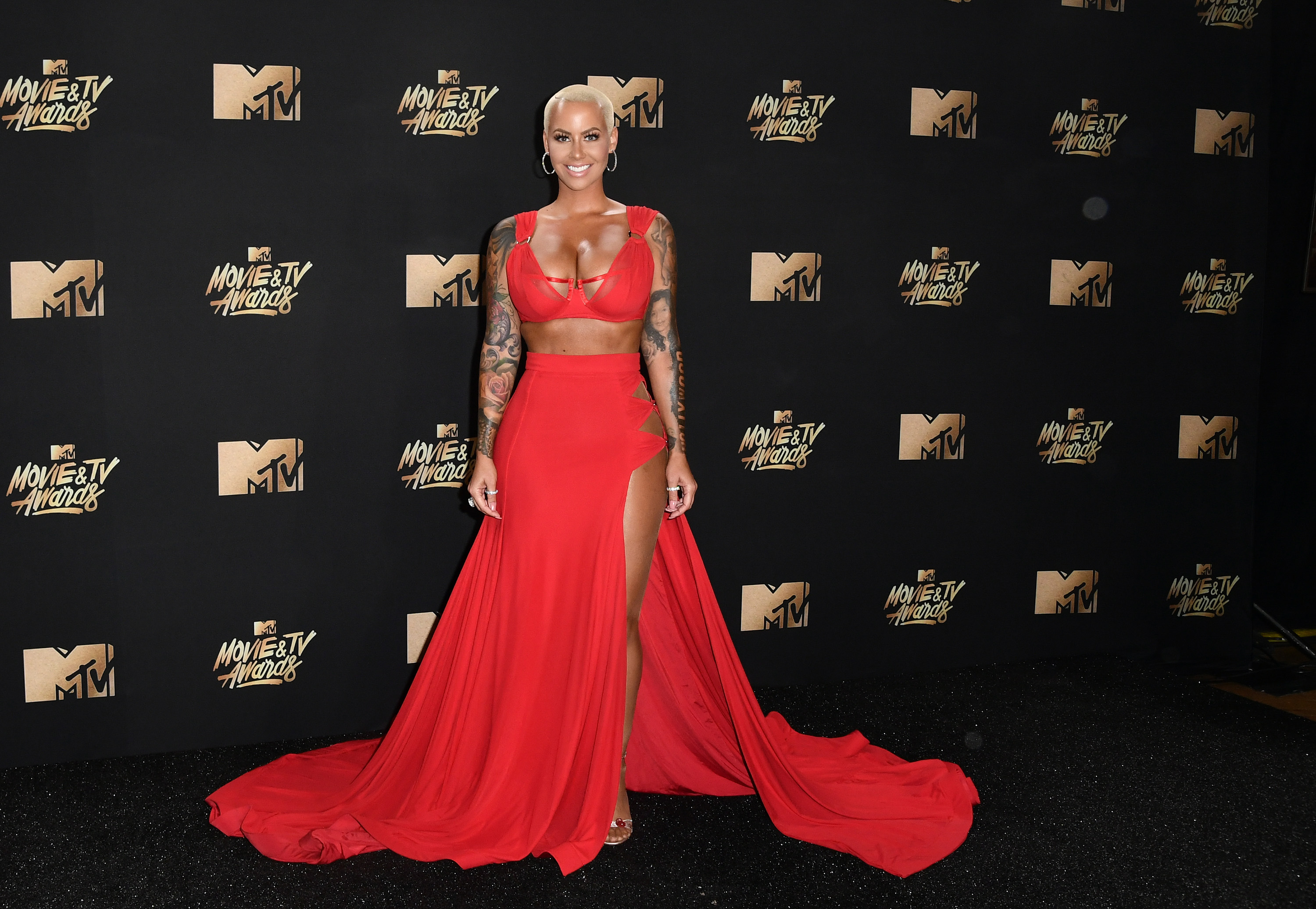 Amber Rose – 2017 MTV Movie And TV Awards in Los Angeles   Amber-Rose2