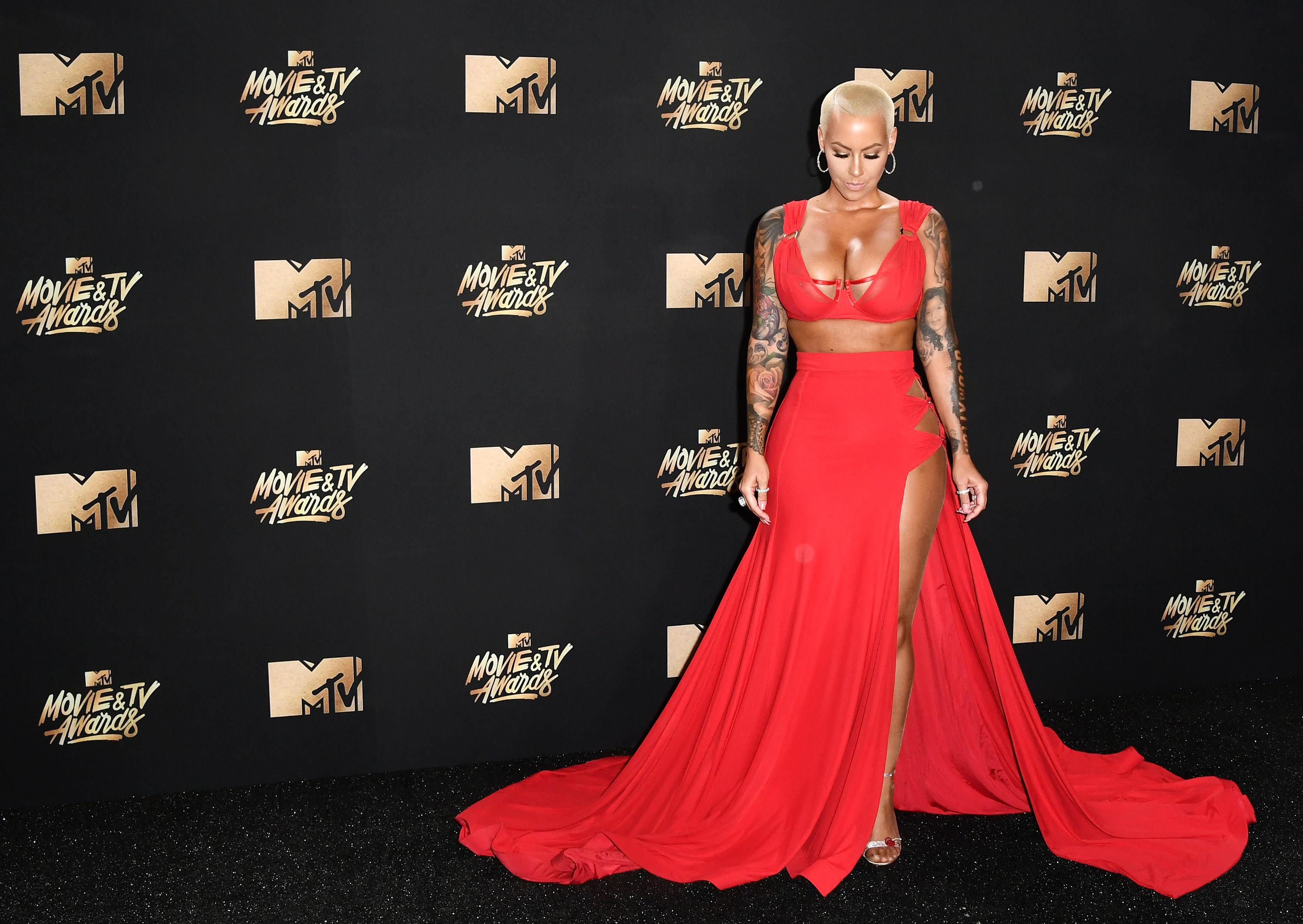 Amber Rose – 2017 MTV Movie And TV Awards in Los Angeles   Amber-Rose3