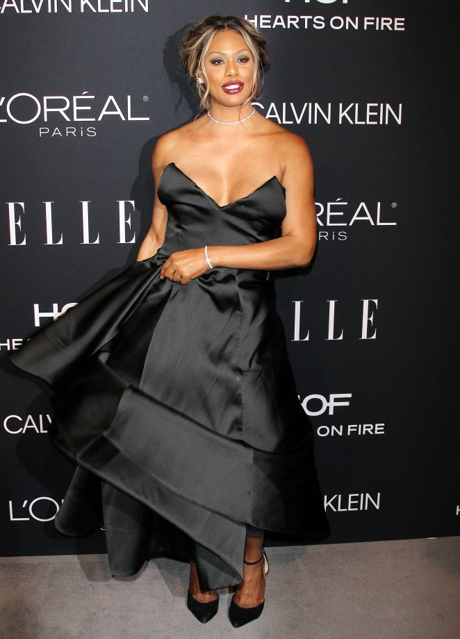 Laverne Cox – ELLE's 25th Women in Hollywood Celebration in LA