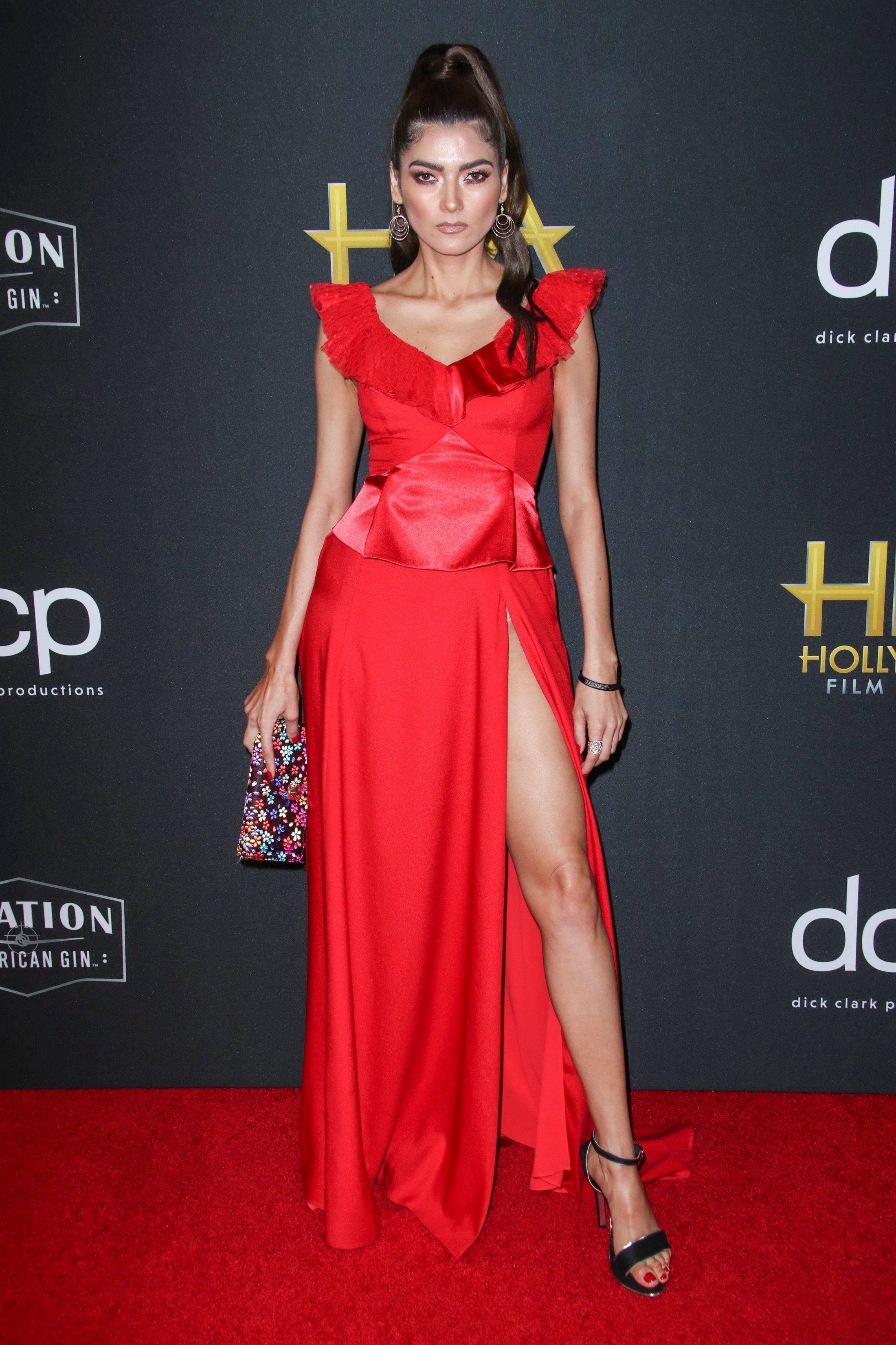 Blanca Blanco 2019 : 23rd Annual Hollywood Film Awards, Arrivals, Beverly Hilton, Los Angeles, USA – 03 Nov 2019