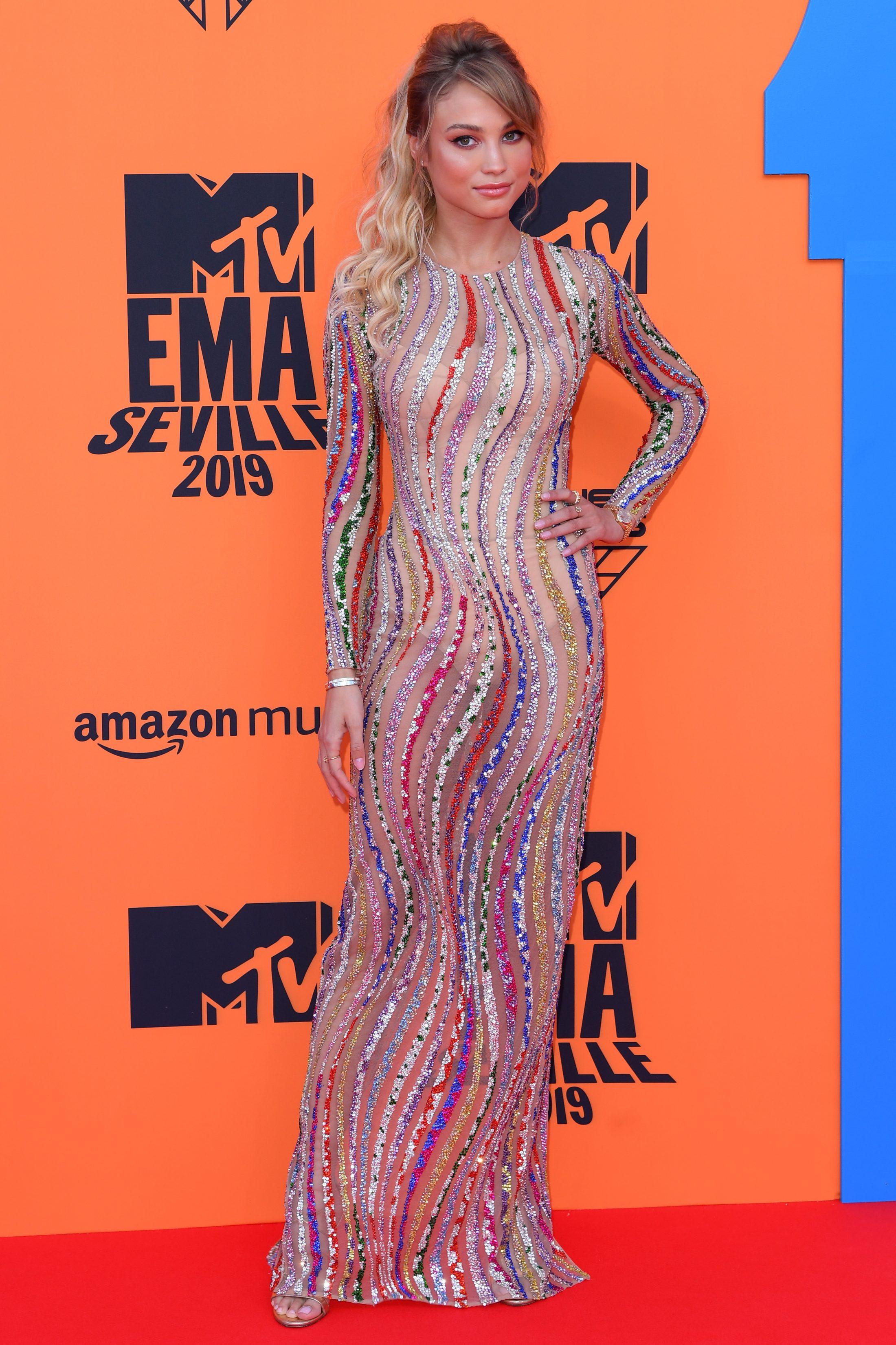 Rose Bertram 2019 : 26th MTV EMA, Arrivals, Seville, Spain – 03 Nov 2019