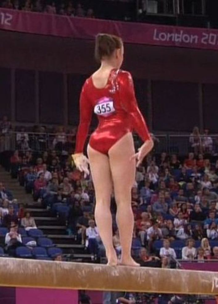 Sexy Women's Gymnastics Olympics 2012
