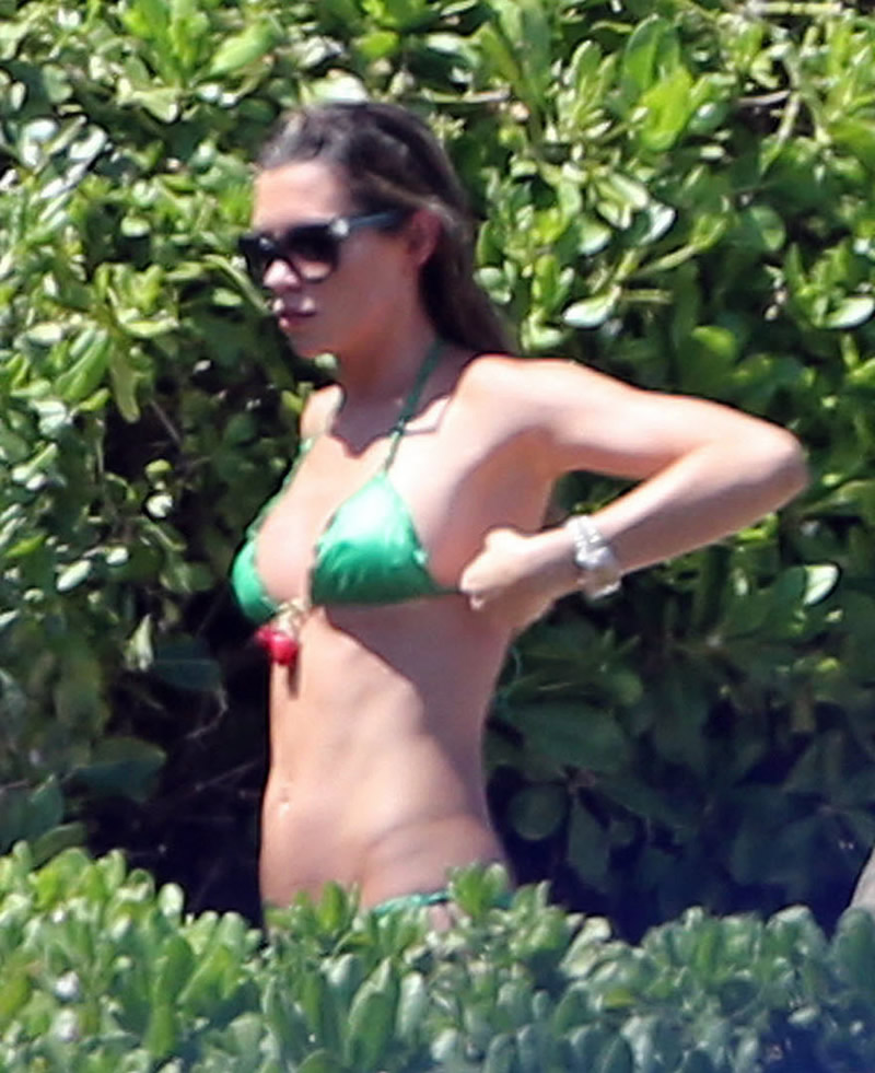 Abbey Clancy 2014 : Abbey Clancy bikini -12