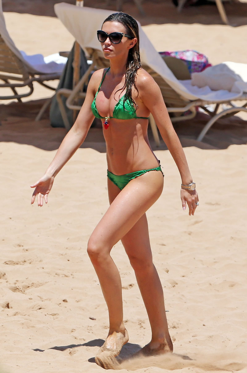 Abbey Clancy 2014 : Abbey Clancy bikini -17