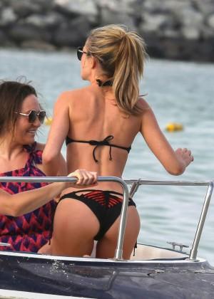 Abbey Clancy in bikini: Dubai 2014-01