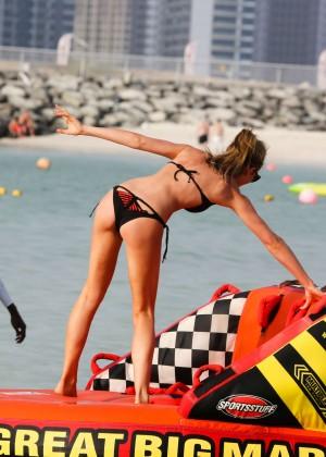 Abbey Clancy in bikini: Dubai 2014-05