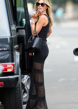 Abbey Clancy hot in black dress-09