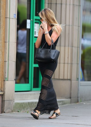 Abbey Clancy hot in black dress-20