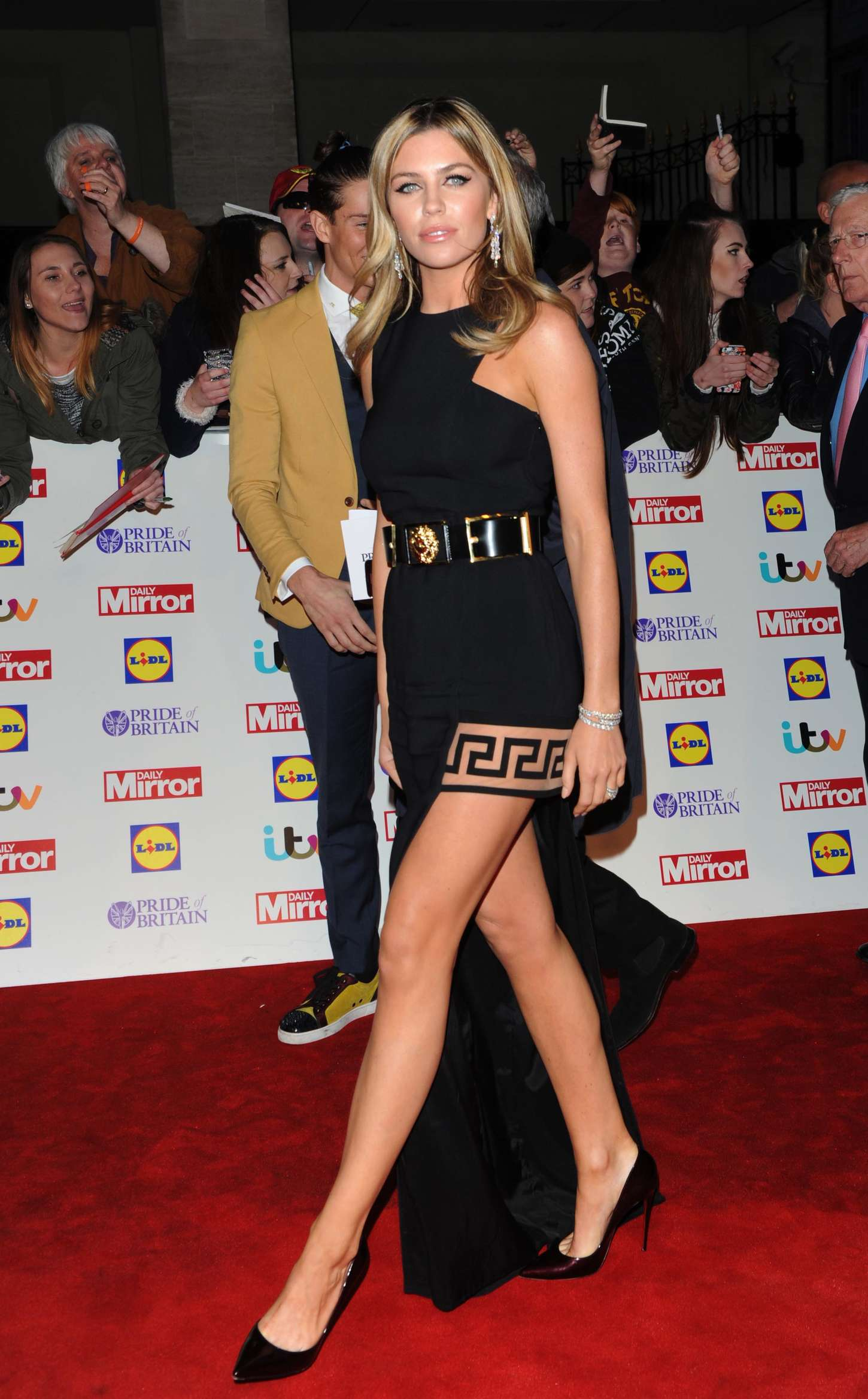 Abbey Clancy 2014 Pride Of Britain Awards In London