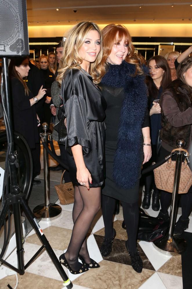 Abbey Clancy In Black Mini Dress 14 Gotceleb