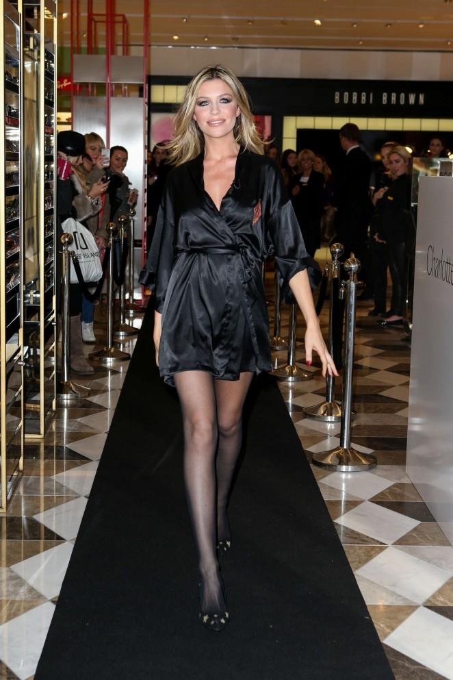 Abbey Clancy In Black Mini Dress 21 Gotceleb
