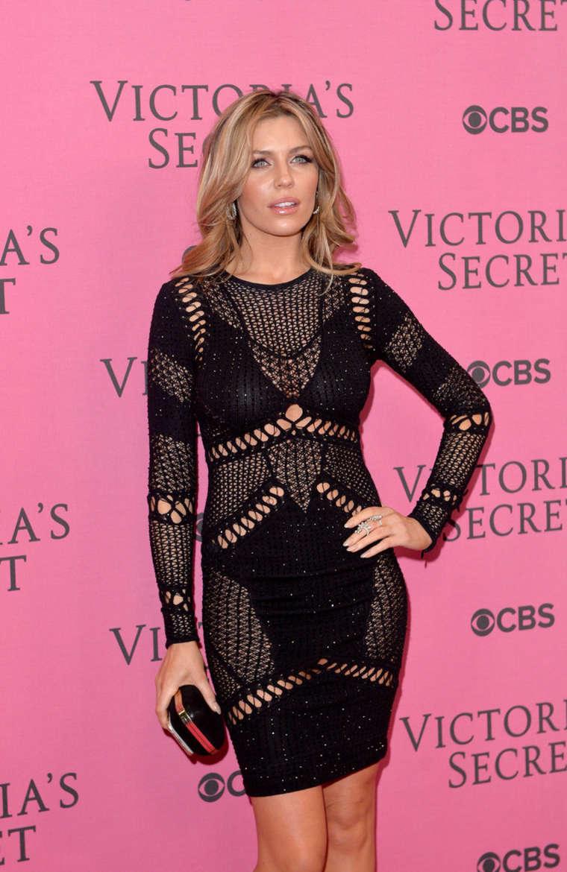 Abbey Clancy - Victoria's Secret Fashion Show Pink Carpet 2014 in London