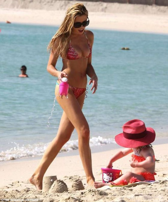 Abbey Crouch 2013 : Abbey Crouch flaunts her bronzed bikini body in Dubai -08